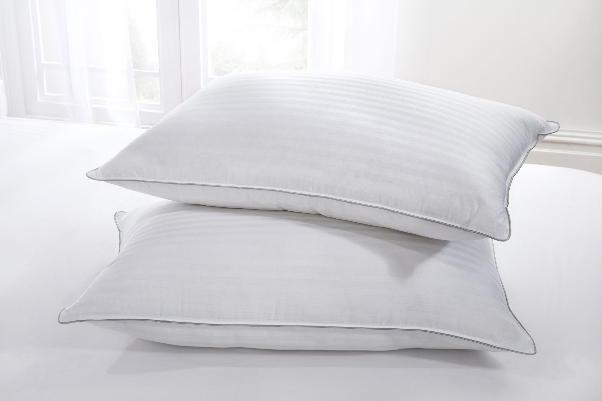 Hotel Collection White Goose Down Pillow Each